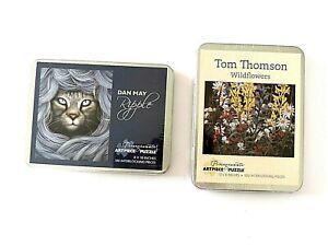 "Pomegranate Tom Thomson Wildflowers 100 Pieces Tin Case 8"" X 10"""