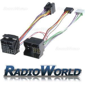 BMW-3-5-6-Series-X3-X5-E46-E39-E60-Handsfree-Bluetooth-Parrot-Adaptor-ISO-Lead