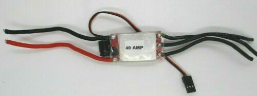 REGOLATORE di velocità brushless 40amp con BEC 3amp buone condizioni