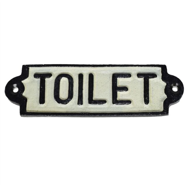 Office Cast Iron Sign Plaque Door Wall Fence Post Cafe Shop Pub Hotel Bar Work