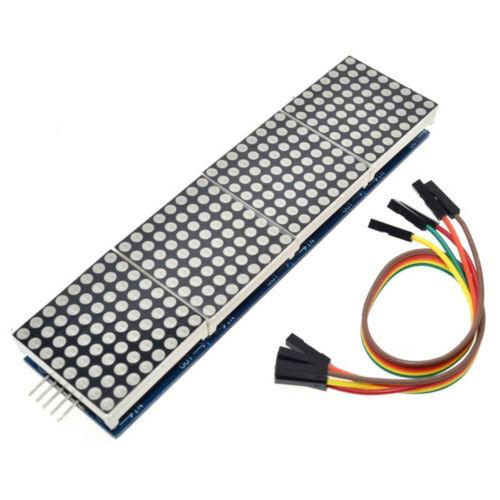 MAX7219 Dot Matrix Module for Microcontroller 4 In One Display Matrix Common