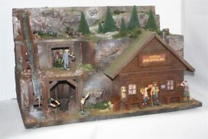2847-Potters-Gold-Mine-Wild-West-zu-7cm-Sammelfiguren-Fertigmodell-in-Composi