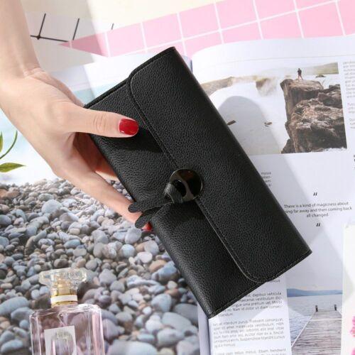Women Fashion Zipper/&Hasp Credit Card Holder Coin Purse Handbag Women Wallet