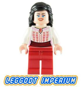 Lego iaj036 Red and White Marion Ravenwood Indiana Jones Minifig