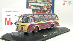 Atlas 1:72 TLF 16 Henschel HS 100 AK Fire Engine Diecast Metal Model