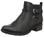 Up Extra Memory Boots Foam Black Evans Wide August Eee Ankle Womens 5 Uk Zip PxxXzvqSp