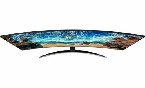 "Samsung UN65NU8500 65/"" curved Smart LED 4K Ultra HD TV with HDR"