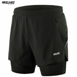 Men-s-Running-Shorts-2-in-1-Training-Exercise-Jogging-Sports-Shorts-with-Liner