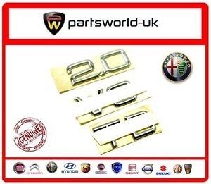 "Actif Brand New, Genuine Alfa Romeo 166, Gtv & Spider "" 2.0 V6 Tb' Badge 60660972-afficher Le Titre D'origine Diversifié Dans L'Emballage"