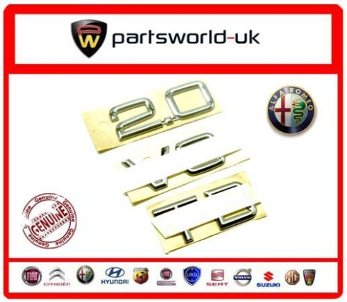 GTV /& Spider /'2.0 V6 TB/' badge 60660972 Brand new,Genuine Alfa Romeo 166