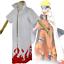 Naruto Costume 4th Gen Leaf Hokage Naruto Minato Cosplay Robe Cloak NEW ZG9