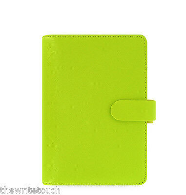 The Filofax  Personal Size Saffiano Organizer in Pear - 022531 - auction