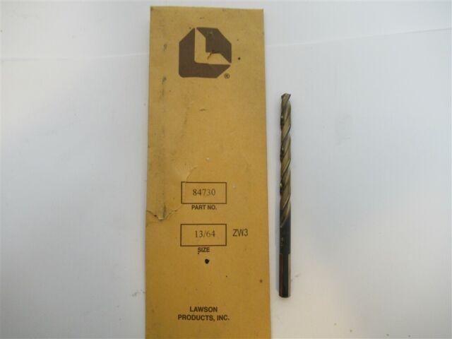 """Carbide Jobber Length Drill 13//64/"""" Dia .2031/"""""""