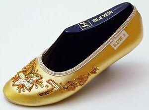 Pailettenbestickte schu Bleyer del oro 12 6310 danza vientre de Sport zapatos Tfaq4T