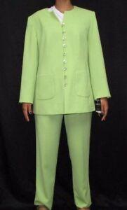 185 2pc Lime Abito Sag Plus Blazer Nwt Harbor Sz 14w Green Davenport pantaloni Donna ZBqOw0