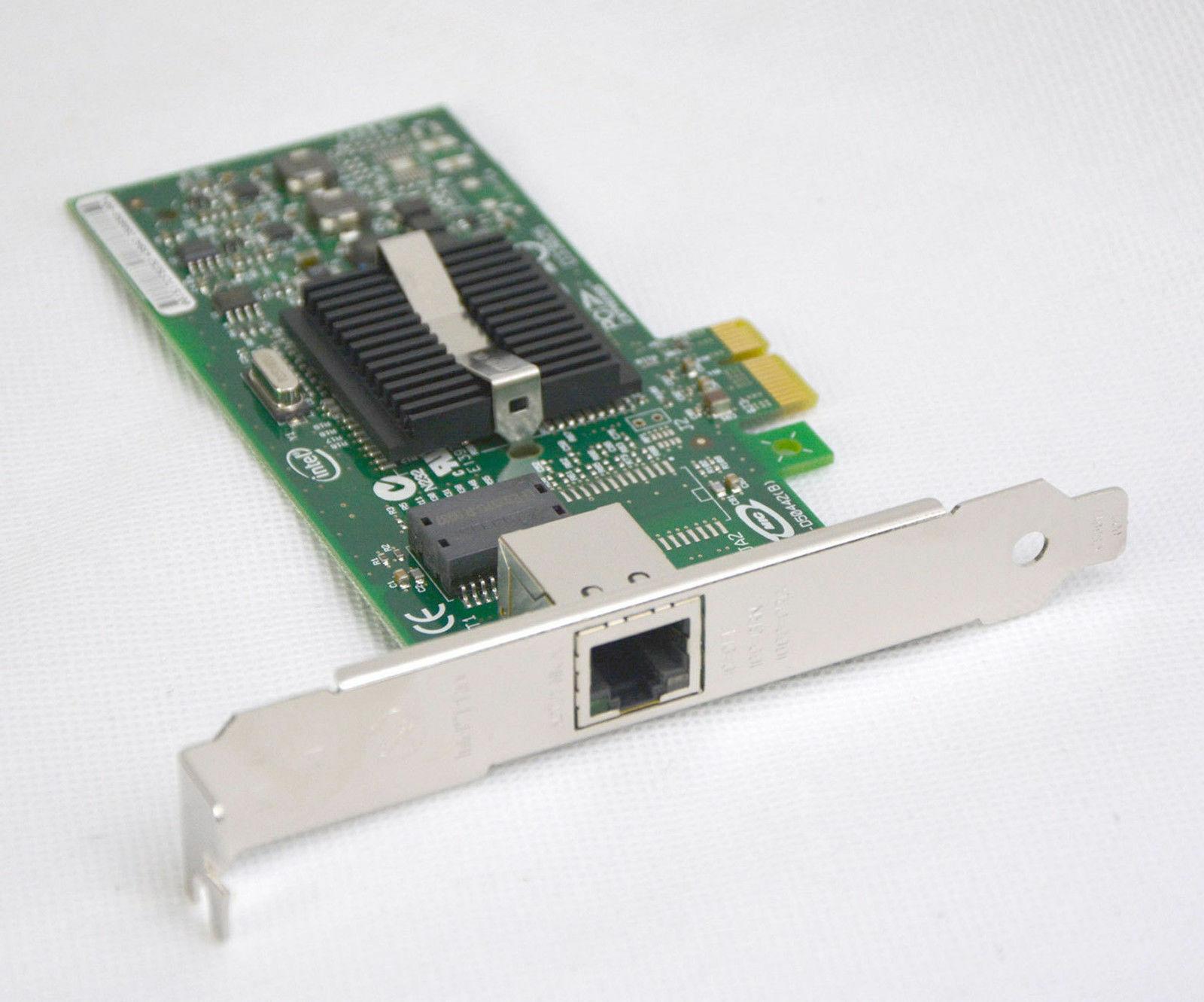 Intel pro/1000pt gigabit lan ethernet card pcie 4x expi9400ptg2p20 #a70