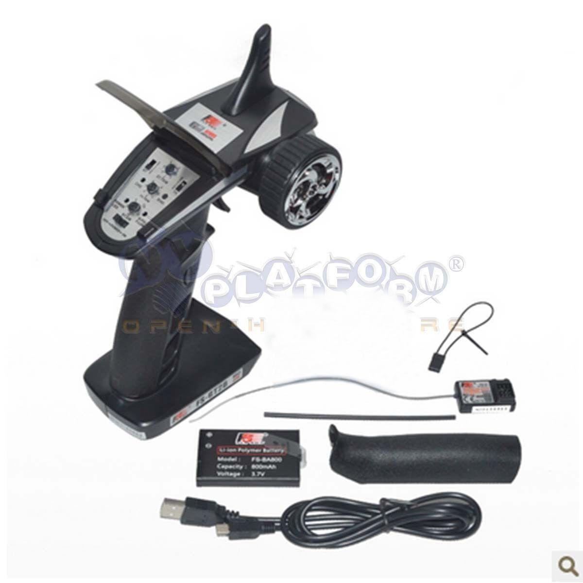 Flysky Flysky Flysky FS-GT2B 2.4G 3CH Radio Model Remote Control RC Transmitter W  Receiver US e61848