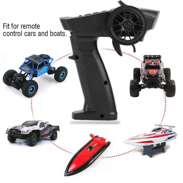Original TURBO RACING 2.4GHz 3CH Transmitter with Receiver for RC Car Boati