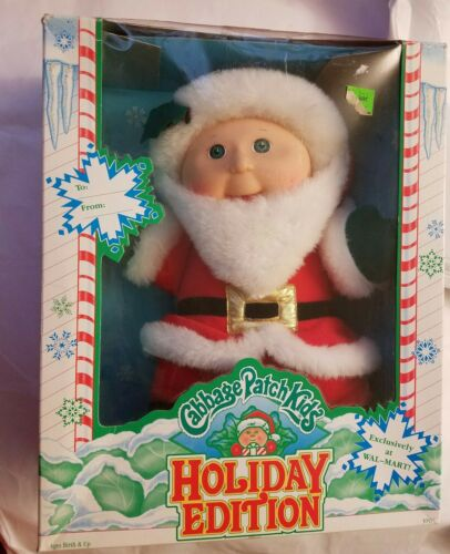 Cabbage Patch Kids Santa Holiday Edition 1992 WalMart Exclusive Hasbro 30315