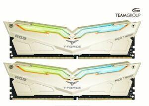 Details about Team T-FORCE NIGHT HAWK Legend RGB 16GB(2 x 8)DDR4 3200MHz  RAM CL14 14-14-14-31