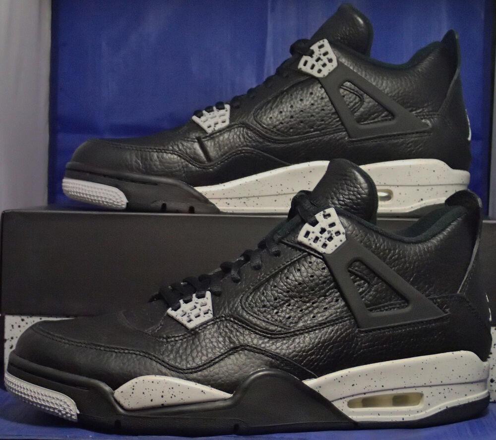 Nike Air Jordan 4 IV Retro Ls Oreo Sz 13 (314254-003)-