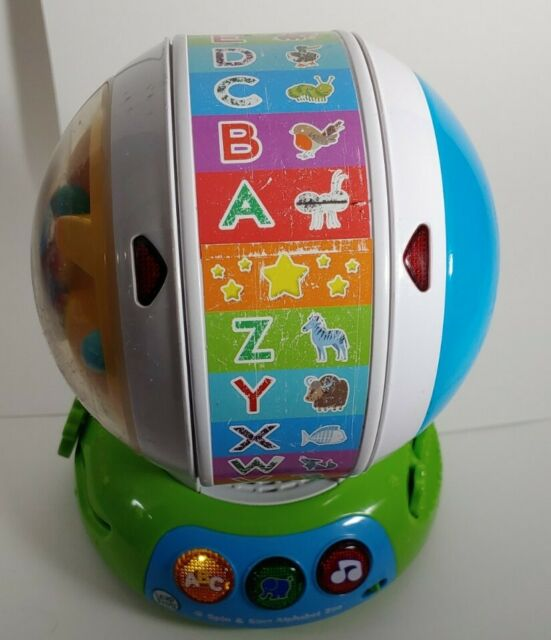 LeapFrog Spin and Sing Alphabet Zoo Discovery Ball ABC ...