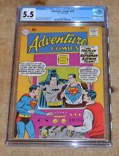 Adventure Comics 275 CGC DC story of the first Superman Batman team up