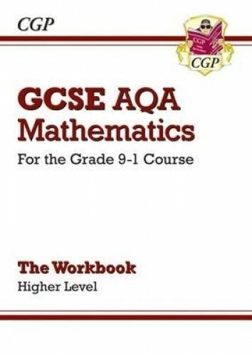 GCSE Maths AQA Workbook: Higher - for the Grade 9-1 Course by CGP Books (Paperba