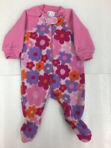 1ef107e94770 The Children s Place Fleece Sleeper with Footies 2 pairs Girls Baby ...