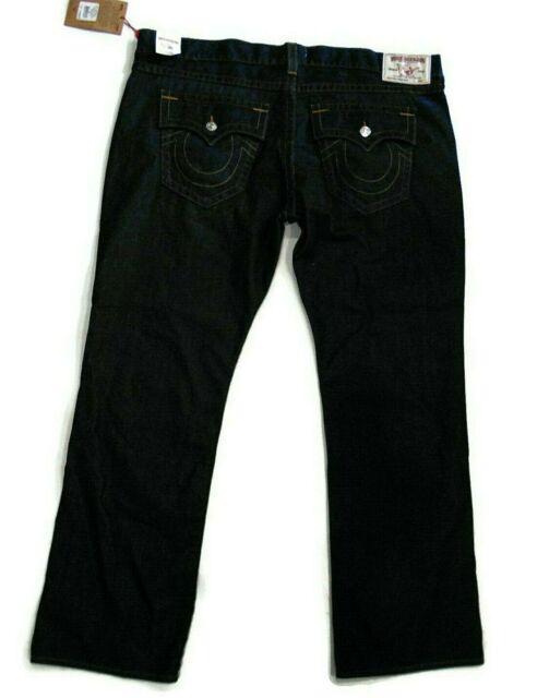 a9985a444 True Religion men's dark blue denim straight leg flap pocket Jeans size 46  $199