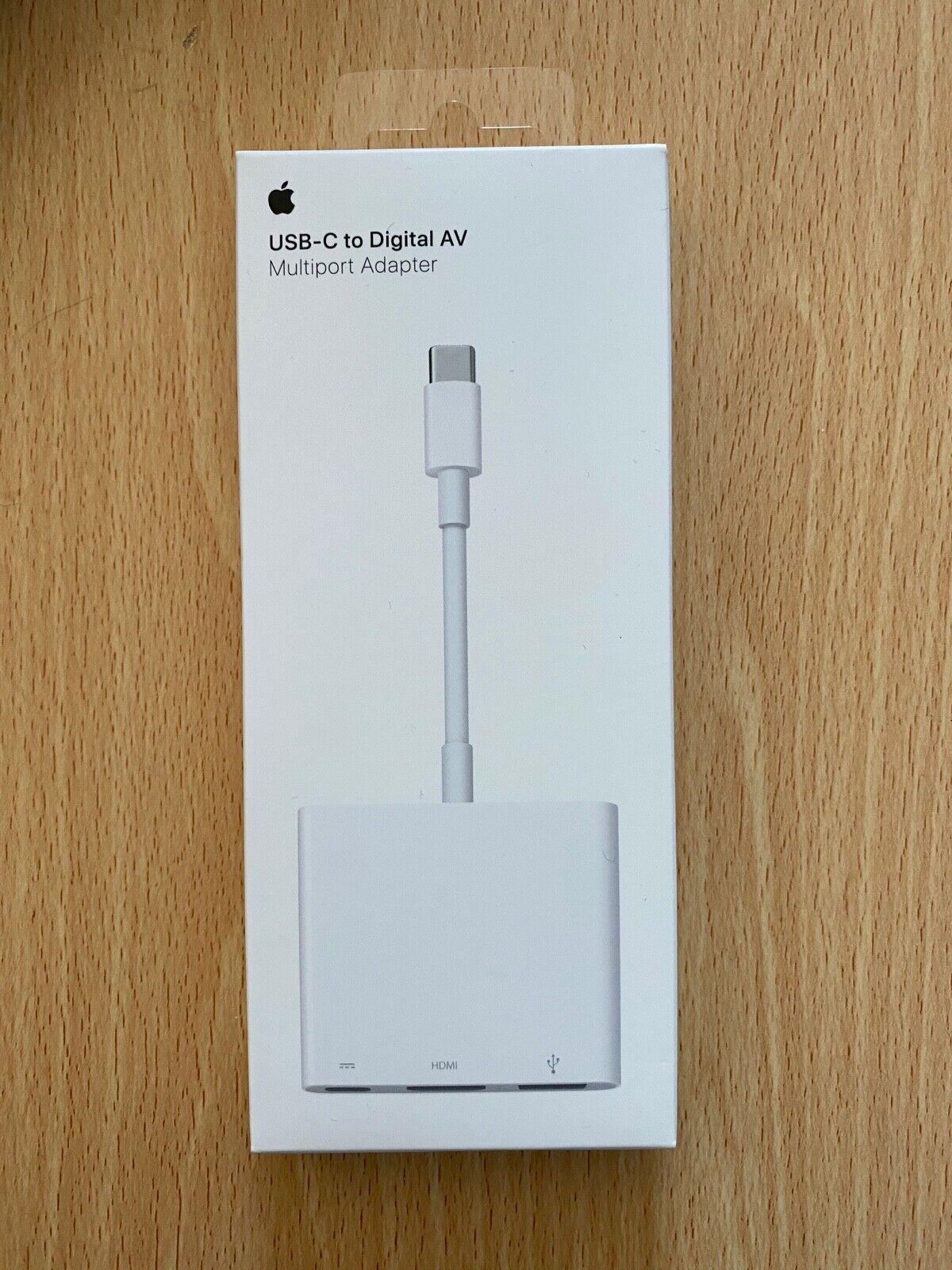 Apple USB-C to HDMI A1621 AV multi adaptor