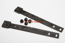 2x OWB Black MOLLE Malice Clips+Mounting Hardware Kydex Holster HSGI Battle Belt