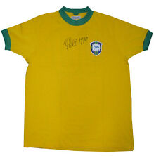 Pele Signed Vintage Brazil World Cup Jersey #10 Ins 1970 Auto COA RARE
