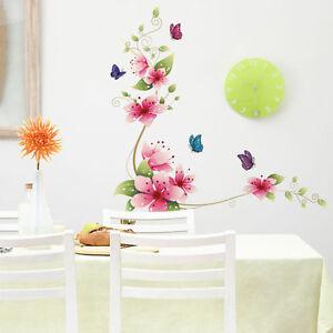 Wandtattoo-Blueten-Wiesenblumen-Blume-Sticker-dekorativ-helle-Farben-Bunt