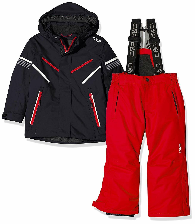 CMP Feel Warm Flat 5.000 39w1844, Set Giacca e Pantaloni Bambino - 39W1844 U4...