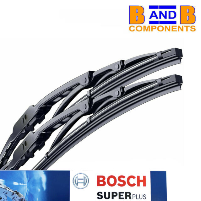 18 18 Bosch Super Plus Front Windscreen Wiper Blades Cooper S one