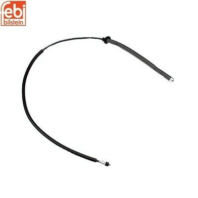 Front Mercedes Benz W123 230 240D 280CE 280E Speedometer Cable Febi 1235427707