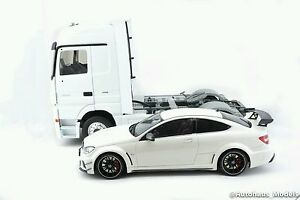Eligor Mercedes Benz Actros Truck 1 18 Scale Die Cast White Color