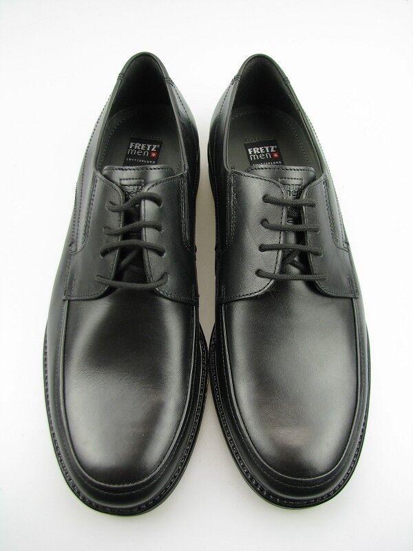 Fretz men Classic Herren Halbschuhe Gr. 42 in schwarz Leder