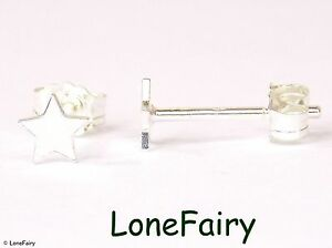 Gorgeous-Tiny-Solid-925-Sterling-Silver-Pair-of-Star-Stud-Earrings-4mm