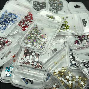 46-colors-2-5mm-400pcs-Nail-Art-Rhinestones-Crystal-Gems-3D-Tips-DIY-Decoration