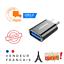 miniature 1 - Adaptateur USB type C 3.0 mâle vers USB femelle OTG téléphone chargeur