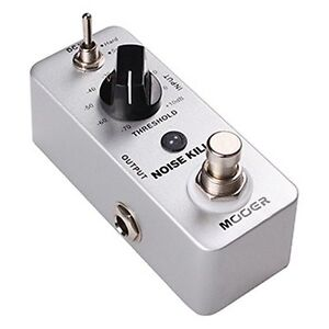 Mooer-Micro-Compact-Noise-Killler-Noise-Gate-Effects-Pedal-MNG1
