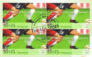 Enthousiaste Rfa 2008: Football-em! Groupe Bloc La Nr 2650 Avec Le Cachet De Berlin! 1a 1607-afficher Le Titre D'origine