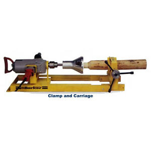 Image Is Loading LOG TENON CLAMP CARRIAGE SYSTEM MAKE LOG FURNITURE
