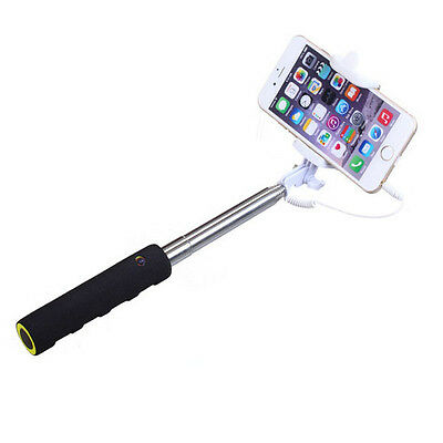 Extendable Monopod Selfie Stick Camera Tripod For Samsung LG Android iPhone 5 6