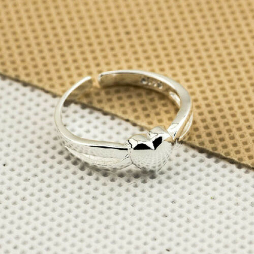 925 Sterling Silver Plating Solid Fashion Jewelry Ring Wholesale Taille Ouvert J07
