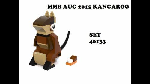 New Sealed LEGO Kangaroo 40133 Monthly Mini Build August 2015 Minifigure Polybag