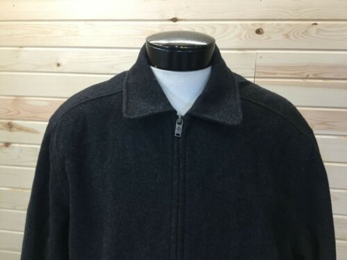 Columbia WOOL coat Long sleeve Black Mens L
