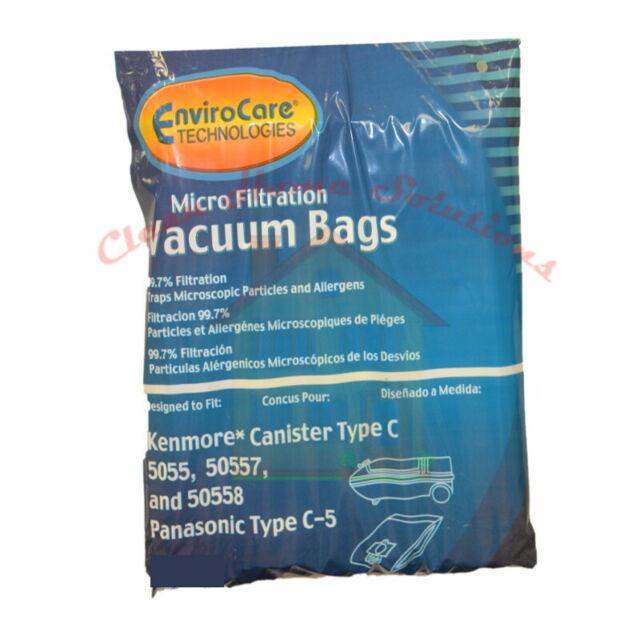 Kenmore Vacuum Bags 5055/50558/50557 Panasonic C-5